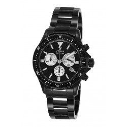 Montre HOMME YEMA SUPERMAN CHRONO BLACK PRO DRIVER 300