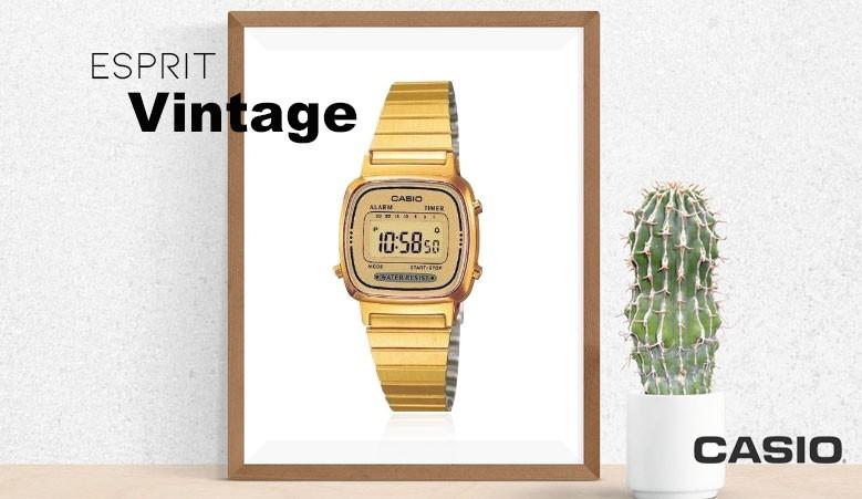 Montre Casio femme style vintage