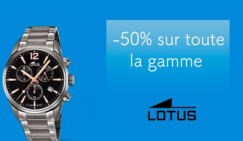 Montre Lotus à -50%